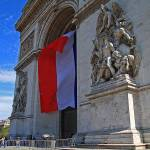 """Billowing Arc de Triomphe"" by northmetrophoto"