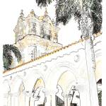 """Balboa Park drawing by RD Riccoboni"" by BeaconArtWorksCorporation"
