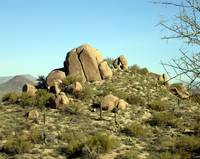 Scrub, Brush, and Boulders, Pinnacle Peak