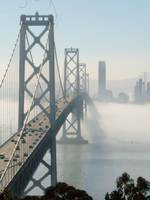 Bay Bridge and Fog