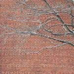 """""""Red Brick Snowy Branches"""" by SusanPszenitzki"""