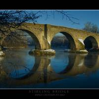 STIRLING BRIDGE1 Art Prints & Posters by JIM RODEN