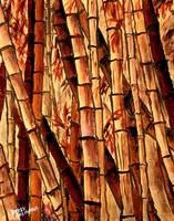 bamboo oriental painting