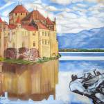 """Castle Of Chillon"" by johnKeaton"