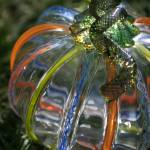 """Multicolor Glass Pumpkin"" by stevegarfield"