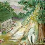 """Cottage Painting"" by LaBoure"
