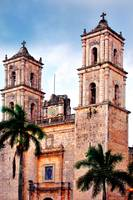 Colonial Church in Valladolid, Mexico