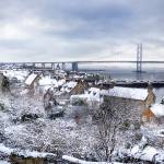"""South Queensferry in the Snow"" by TomGomez"