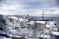 South Queensferry in the Snow