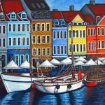 """Colors of Nyhavn II"" by LisaLorenz"