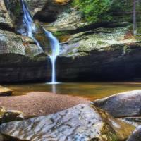 Cedar Falls Waterfall by Jim Crotty