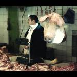 """Meat seller at Tbilisi Market"" by blazko"