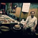 """Open air restaurant in Pingyao"" by blazko"