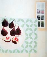 figs with tablecloth