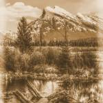 """Mount Rundle"" by bobb"