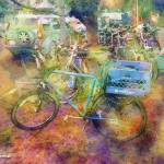"""Bicycle Impressions"" by artistfaye"