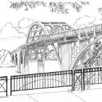 """Edmund Pettus Bridge Selma Alabama"" by BRHedrickGallery"