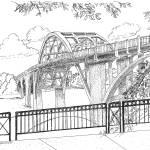"""Edmund Pettus Bridge Selma Alabama"" by BRHedrickGallery"