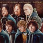 """The Fellowship of the Ring / Lord of the Rings"" by cinemalad"