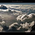 """Tibet: sunset from 8300m camp on Everest"" by ExposedPlanet"