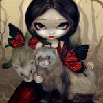"""""""Red Butterfly Ferrets"""" by strangeling"""