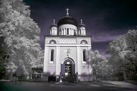 The Russion Orthodox Church in Potsdam (Infrared)