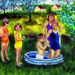 """The Swimmers"" by hickerson"