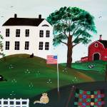"""COUNTRY FARM by Maria Greene"" by mariagreene"