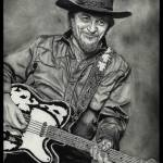 """Waylon Jennings"" by ArtByAlycia"