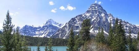 Canadian Mountain Panorama