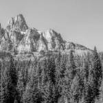"""Castle Mountain Panorama"" by bobb"