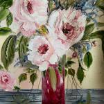 """Pink Floral"" by arlen"