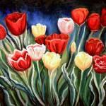 """Enchanted Tulips"" by ElizaArt"