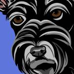 """Scottish Terrier"" by waterart"