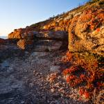 """Crimson Rocks at Whisky Bay"" by willhl"