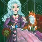 """""""Afternoon Tea with Fox and Canary"""" by wally_doodle"""