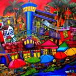 """Downtown Attractions"" by artbypatti"