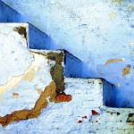 """""""Blue Stairs Udaipur India Old City"""" by CrypticFragments"""