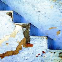 Blue Stairs Udaipur India Old City