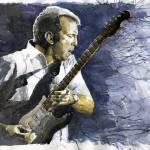 """Jazz Eric Clapton 1"" by shevchukart"