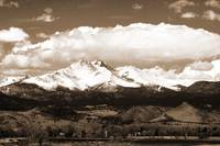 The Twin Peaks Mt Meeker  and Longs Peak