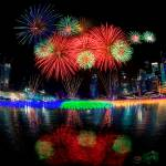 """Singapore New Year Fireworks"" by souvikb"