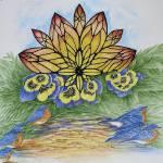 """""""Bluebird Bath"""" by Karlos"""