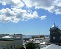 Rooftops in Bridgetown, Barbados