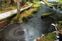 Swirling Water