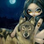 """Wolf Moon"" by strangeling"