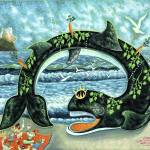 """0659_whale"" by Nachshonart"