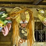 """Haiti, Jacmel, carnival masks"" by tropicalpix"