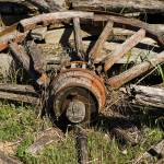 """Old Wagon Wheel"" by PaulHuchton"