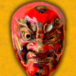 """Noh Theater Mask I"" by bobb"